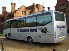 St Margarets coach hire